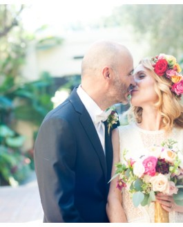 Los Angeles River Center & Gardens Wedding // Gillas & Liz