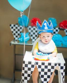 Nathan's 1st Birthday // Monrovia Home